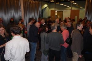 TSFG writers at VIP reception