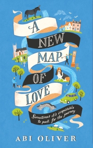 blue 2 A NEW MAP OF LOVE - Abi Oliver